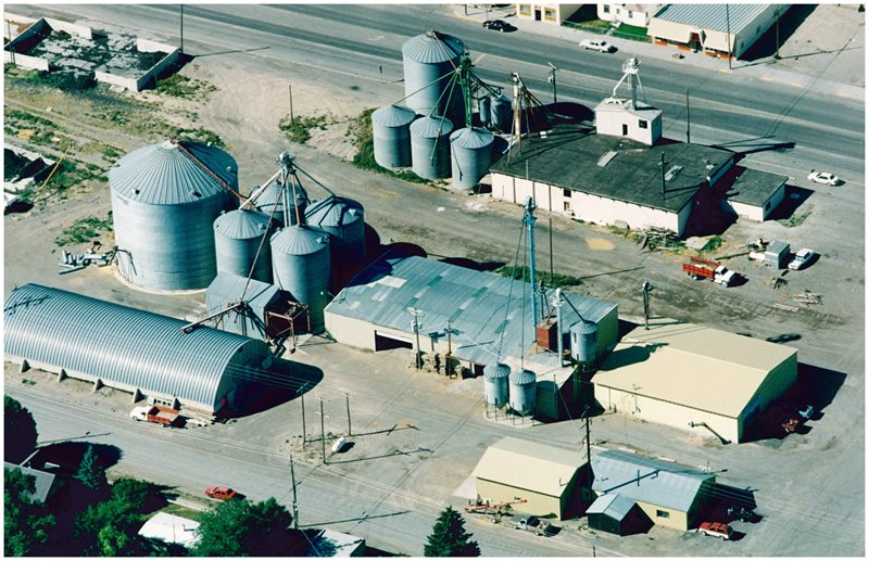 Valley Grain is established in Arco : specialized in Grain, Seed, and fertilizer, started out as an old grain elevator